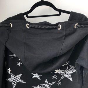 Lauren Moshi Jackets & Coats - Lauren Moshi star print hoodie
